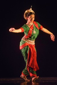 indian dance green